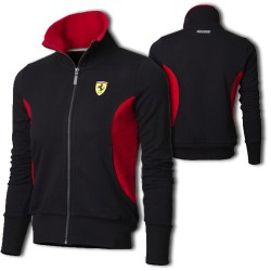 Ferrari Zipper Sweatshirt Jacket Dam