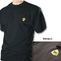 Ferrari Black Shadow Stripe Shirt